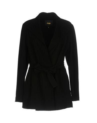 Maje Coats In Black