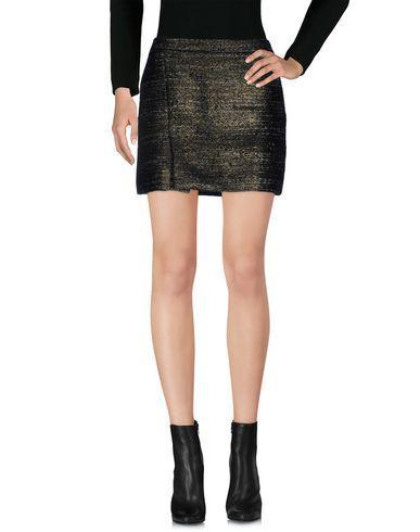 Karl Lagerfeld Mini Skirt In Bronze