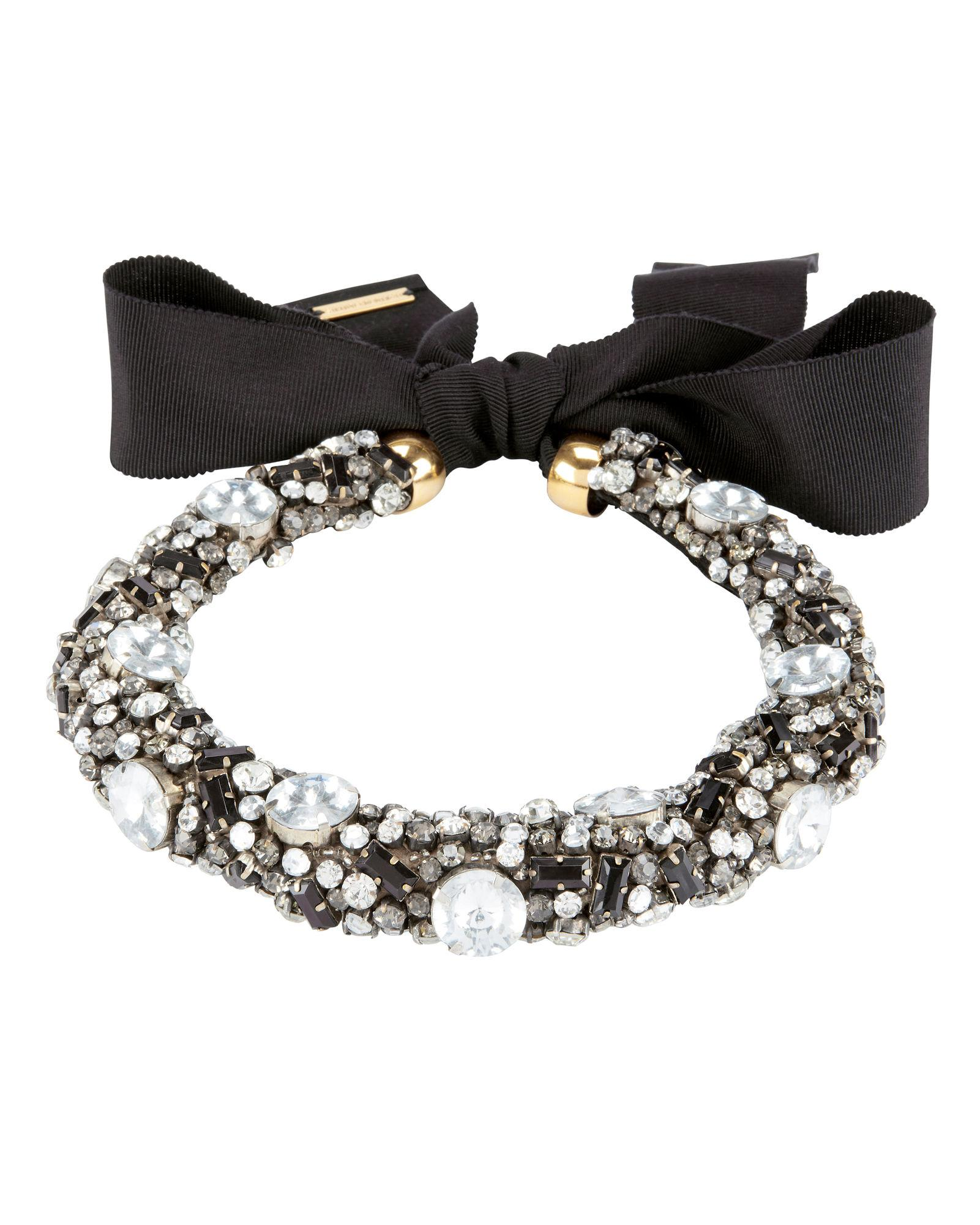 Lizzie Fortunato African Sky Collar Necklace In Black