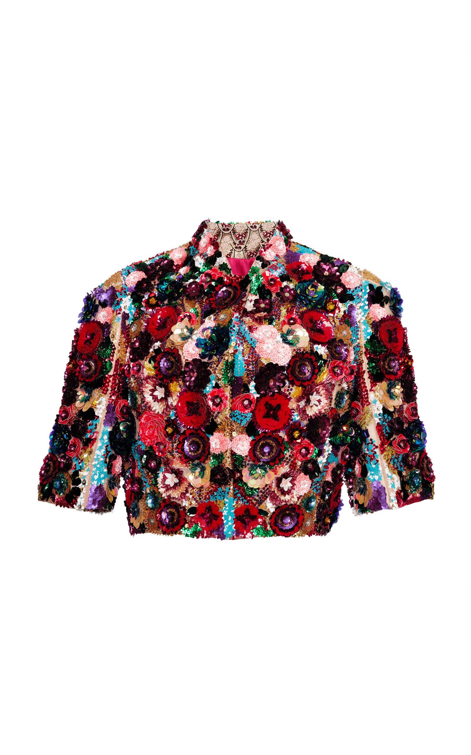 Dolce & Gabbana Embellished Bolero In Multi