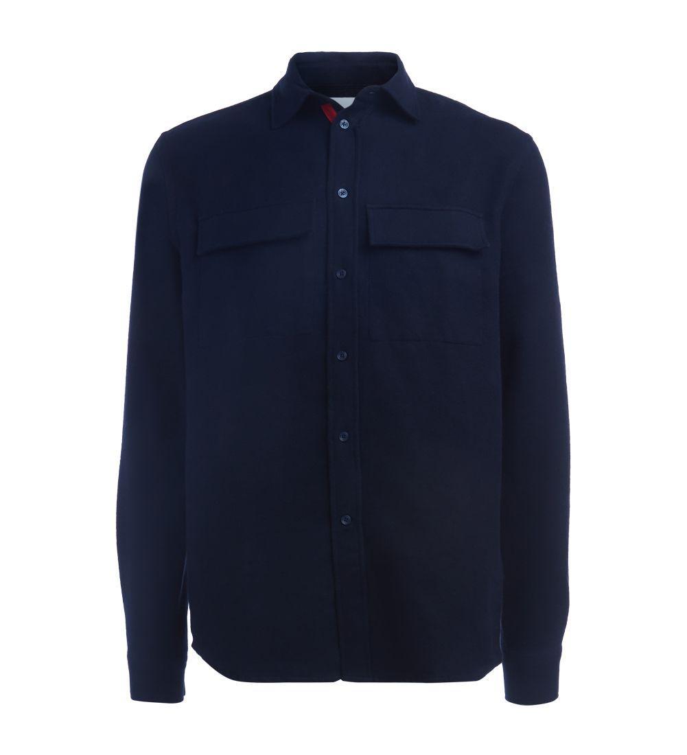Wood Wood Camicia  Blu Notte