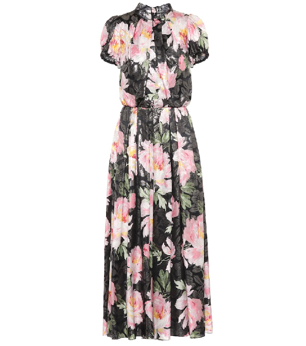 Dolce & Gabbana Floral-Printed Silk-Blend Jumpsuit In Multicoloured