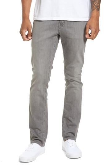 Vans V76 Skinny Jeans In Worn Grey