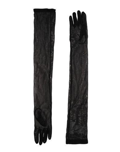 Maison Margiela Gloves In Black