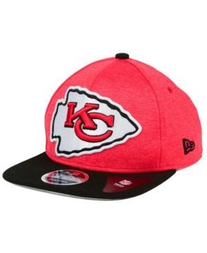 New Era Kansas City Chiefs Heather Huge 9Fifty Snapback Cap In Red/Black