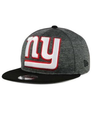 New Era New York Giants Heather Huge 9Fifty Snapback Cap In Heather Charcoal/Black