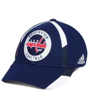 Adidas Originals Adidas Washington Capitals Practice Jersey Hook Cap In Navy/White