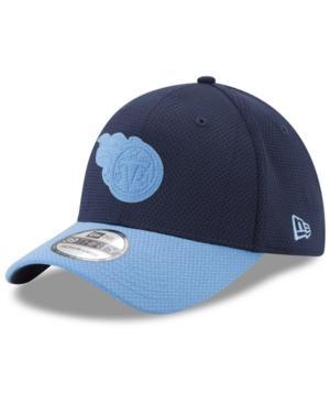 New Era Tennessee Titans Logo Surge 39Thirty Cap In Navy/Lightblue