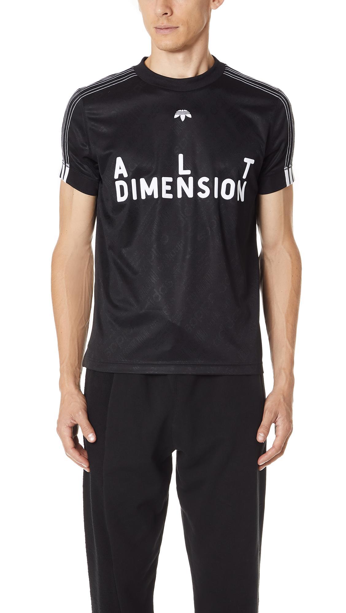 Adidas Originals By Alexander Wang Adidas Original By Alexander Wang T-Shirt In Black