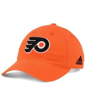 Adidas Originals Adidas Philadelphia Flyers Core Slouch Cap In Orange