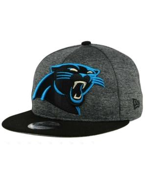 New Era Carolina Panthers Heather Huge 9Fifty Snapback Cap In Heather Charcoal/Black