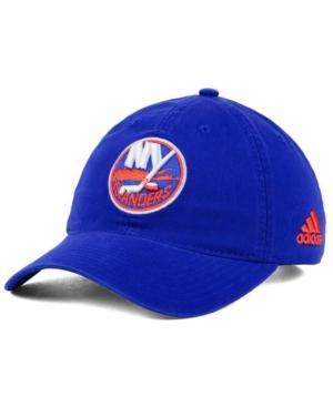 Adidas Originals Adidas New York Islanders Core Slouch Cap In Blue