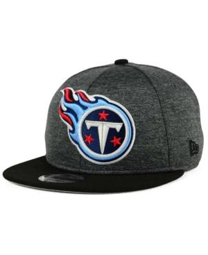 New Era Tennessee Titans Heather Huge 9Fifty Snapback Cap In Heather Graphite/Black