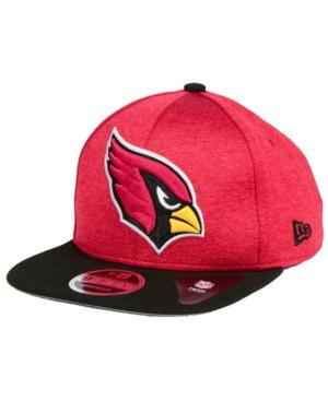 New Era Arizona Cardinals Heather Huge 9Fifty Snapback Cap In Maroon/Black
