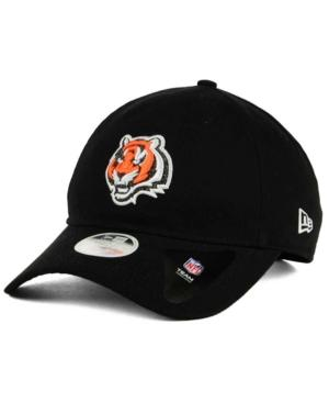 New Era Cincinnati Bengals Team Glisten 9Twenty Cap In Black