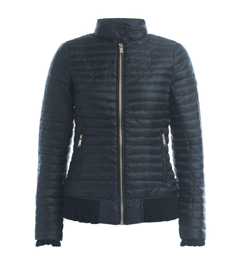 Michael Kors Black Down Jacket In Nero