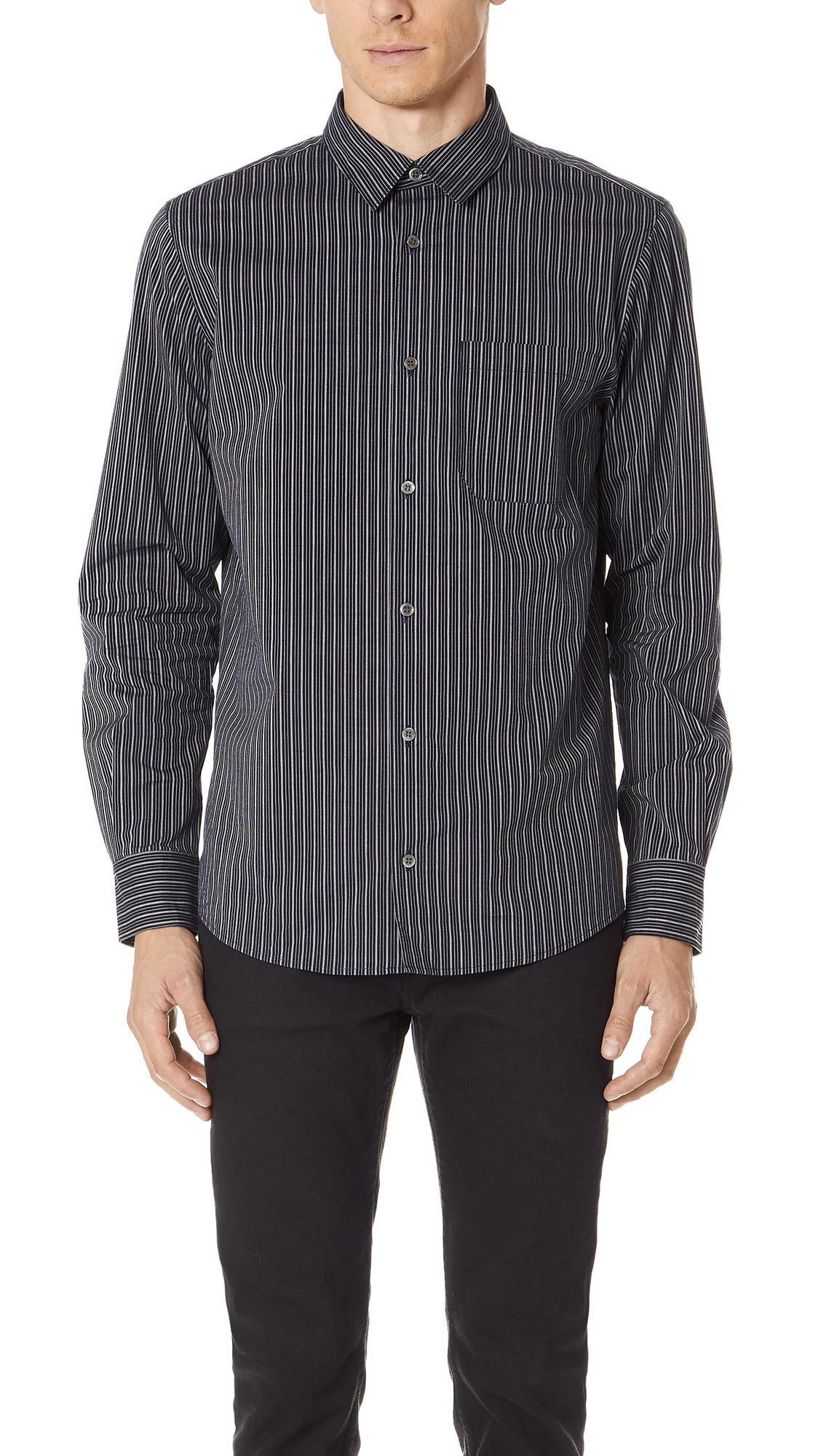 A.P.C. Will Shirt In Dark Navy