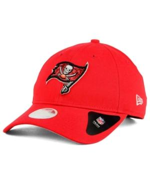 New Era Tampa Bay Buccaneers Team Glisten 9Twenty Cap In Red