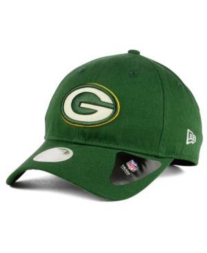 New Era Green Bay Packers Team Glisten 9Twenty Cap