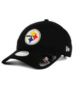 New Era Pittsburgh Steelers Team Glisten 9Twenty Cap In Black