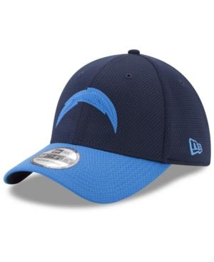 New Era Los Angeles Chargers Logo Surge 39Thirty Cap In Navy/Lightblue
