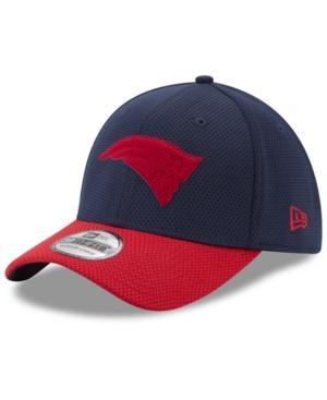 New Era New England Patriots Logo Surge 39Thirty Cap In Navy/Red