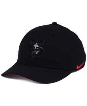 Nike Arkansas State Red Wolves Col Cap In Black