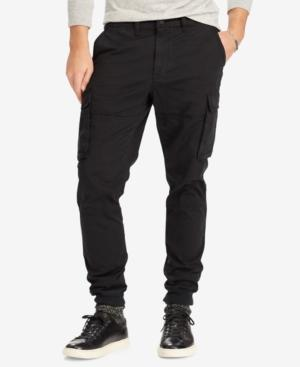Polo Ralph Lauren Men's Slim-Fit Stretch Cargo Pants In Polo Black