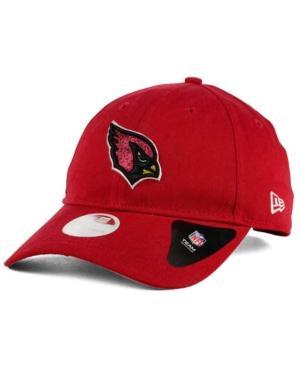 New Era Arizona Cardinals Team Glisten 9Twenty Cap In Red