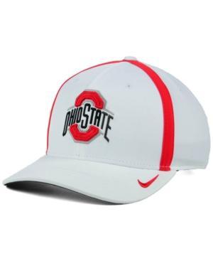 Nike Ohio State Buckeyes Aerobill Sideline Coaches Cap In White