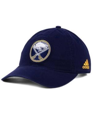Adidas Originals Adidas Buffalo Sabres Core Slouch Cap In Navy