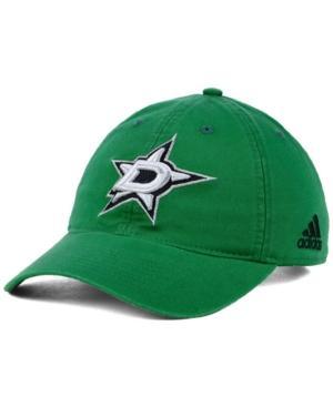 Adidas Originals Adidas Dallas Stars Core Slouch Cap In Green