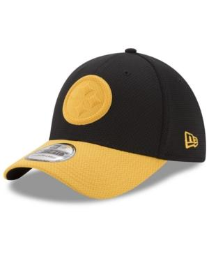 New Era Pittsburgh Steelers Logo Surge 39Thirty Cap In Black/Yellow