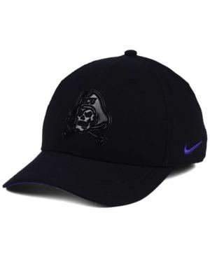 Nike East Carolina Pirates Col Cap In Black