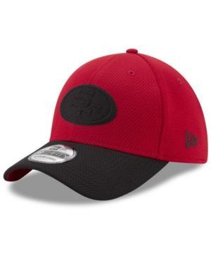 New Era San Francisco 49Ers Logo Surge 39Thirty Cap In Red/Black
