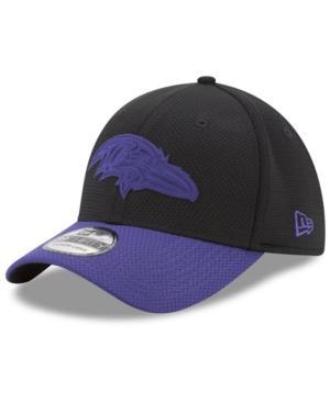 New Era Baltimore Ravens Logo Surge 39Thirty Cap In Purple/Black