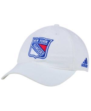 Adidas Originals Adidas New York Rangers Core Slouch Cap In White