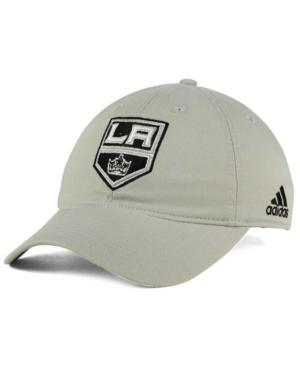 Adidas Originals Adidas Los Angeles Kings Core Slouch Cap In Gray