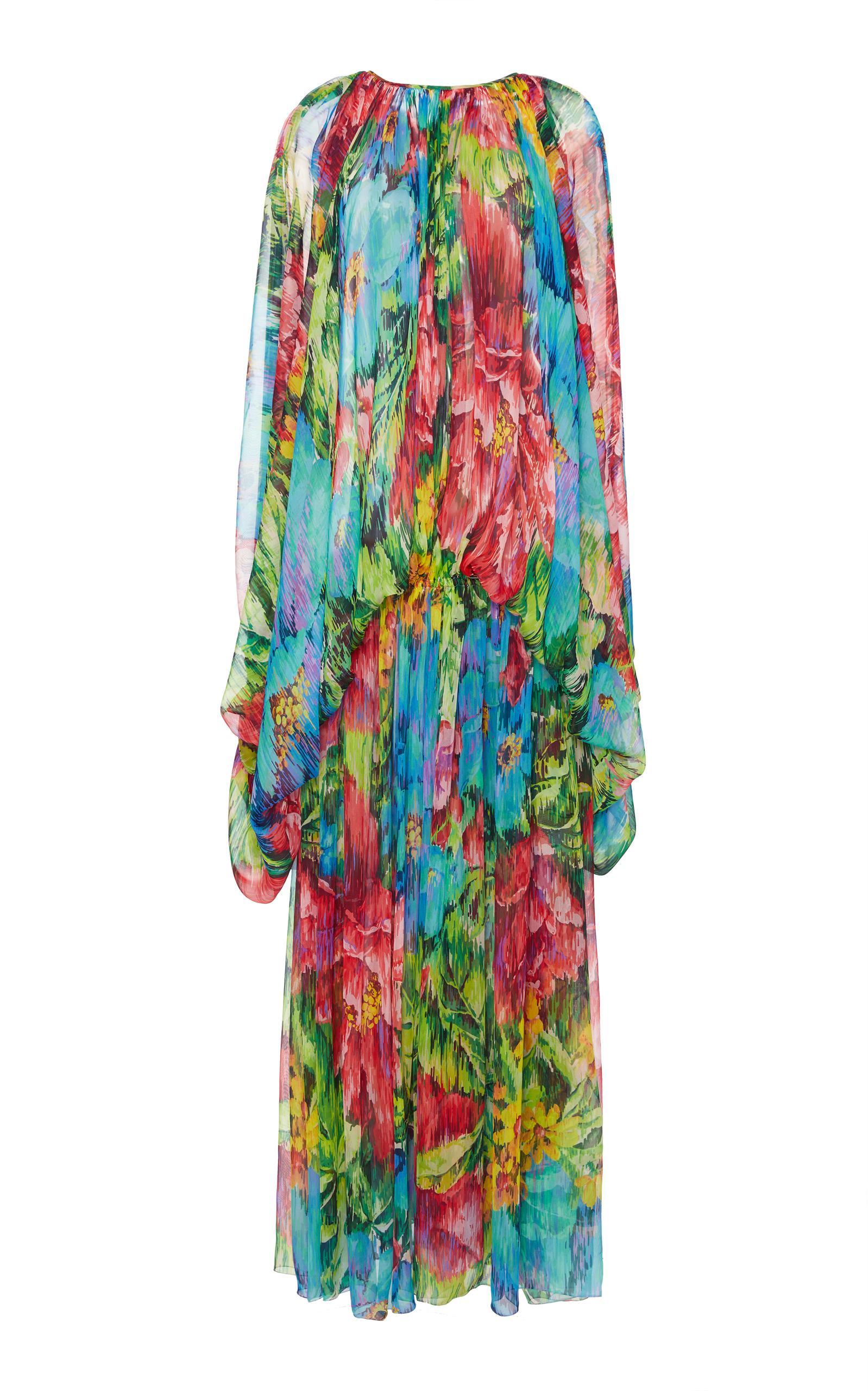 Dolce & Gabbana Floral Maxi Dress