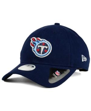 New Era Tennessee Titans Team Glisten 9Twenty Cap In Navy