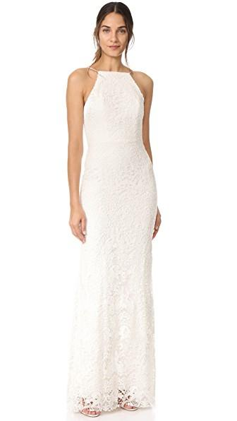 Theia Hayley Gown In Ivory