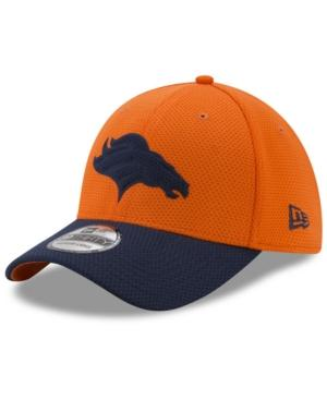 New Era Denver Broncos Logo Surge 39Thirty Cap In Navy/Orange