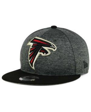 New Era Atlanta Falcons Heather Huge 9Fifty Snapback Cap In Heather Graphite/Black