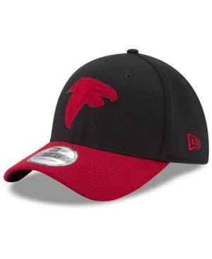 New Era Atlanta Falcons Logo Surge 39Thirty Cap In Red/Black