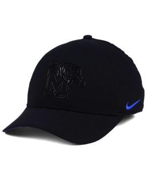 Nike Memphis Tigers Col Cap In Black/Blue