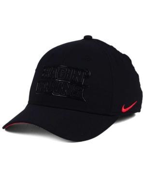 Nike Louisiana Ragin' Cajuns Col Cap In Black