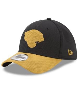 New Era Jacksonville Jaguars Logo Surge 39Thirty Cap In Teal/Black