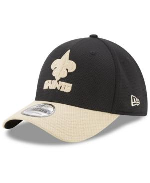New Era New Orleans Saints Logo Surge 39Thirty Cap In Black/Gold