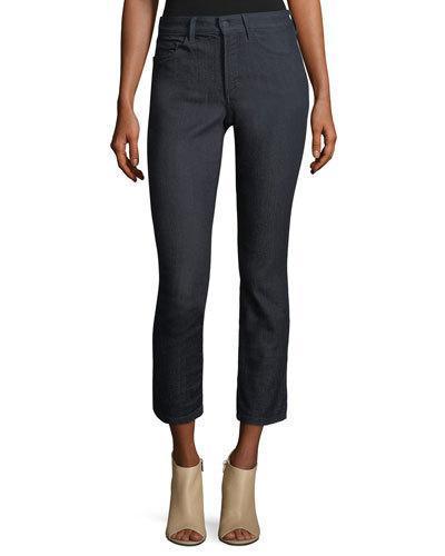 Nydj Clarissa Skinny Jeans In Dark Enzyme