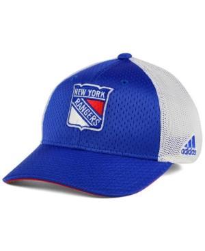 Adidas Originals Adidas New York Rangers Mesh Flex Cap In White